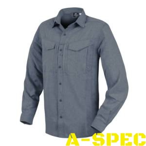 Рубашка defender mk 2 gentleman shirt melange Blue