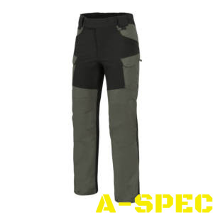 Брюки HYBRID OUTBACK PANTS Taiga Green Black DURACANVAS Helikon-Tex