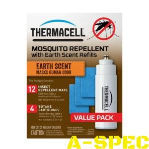 Картридж Thermacell E-4 Repellent Refills – Earth Scent 48 ч