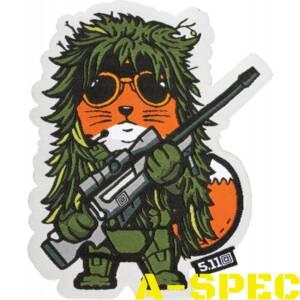 Шеврон 5.11 TACTICAL FOX SNIPER PATCH