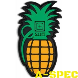 Шеврон 5.11 PINEAPPLE GRENADE PATCH