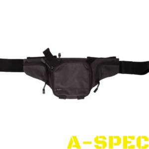 Сумка тактическая пистолетная поясная 5.11 Tactical Select Carry Pistol Pouch Charcoal