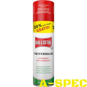Масло оружейное Ballistol 240 мл
