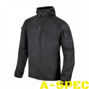Куртка ALPHA HOODIE Grid Fleece