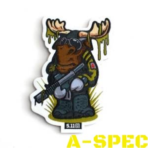 Нашивка TACTICAL MOOSE Patch