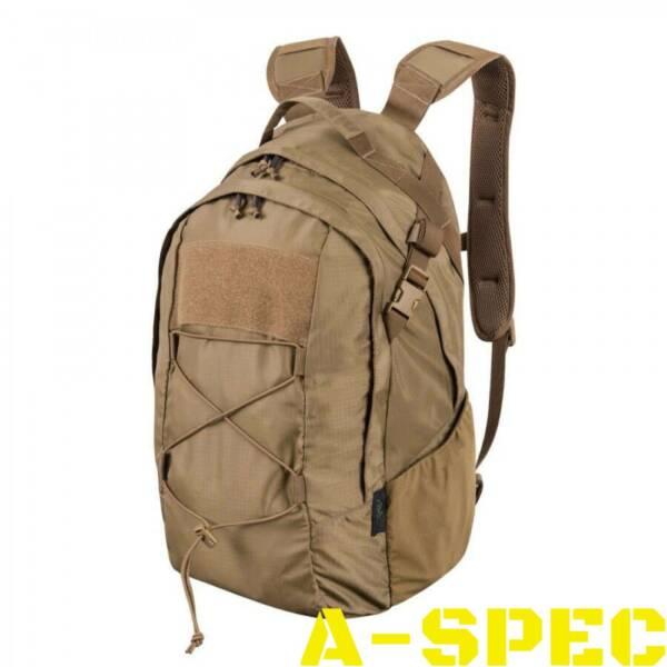 Рюкзак Helikon-Tex EDC Lite Backpack Coyote- упрощенная, облегченная версия повседневноuj 21-литрового городского рюкзака