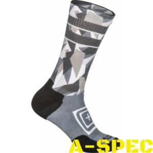 Носки 5.11 Tactical SOCK & AWE CREW DAZZLE Cool Grey