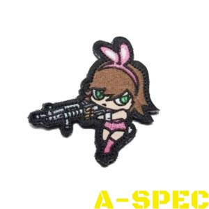 Морал патч Bunny Girl High Contrast Mil-Spec Monkey
