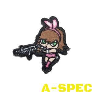 Морал патч Bunny Girl High Contrast Mil-Spec Monkey
