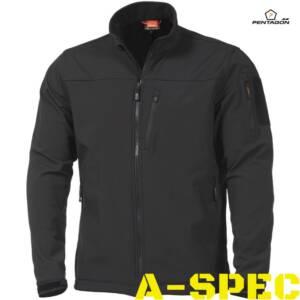 Тактическая куртка Reiner 2.0 Soft Shell Pentagon Black