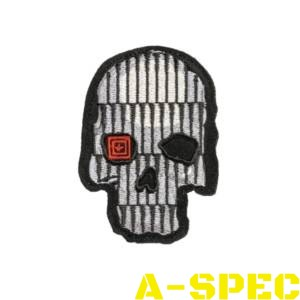Морал патч BULLET SKULL Grey Patch 5.11 Tactical