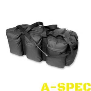 Mil-Tec Сумка-рюкзак транспортная Tap 98 Black