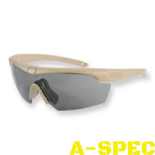 Очки защитные ESS Crosshair 3LS Kit Terrain Tan