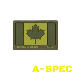 Нашивка Canada Flag Patch 5.11 Tactical