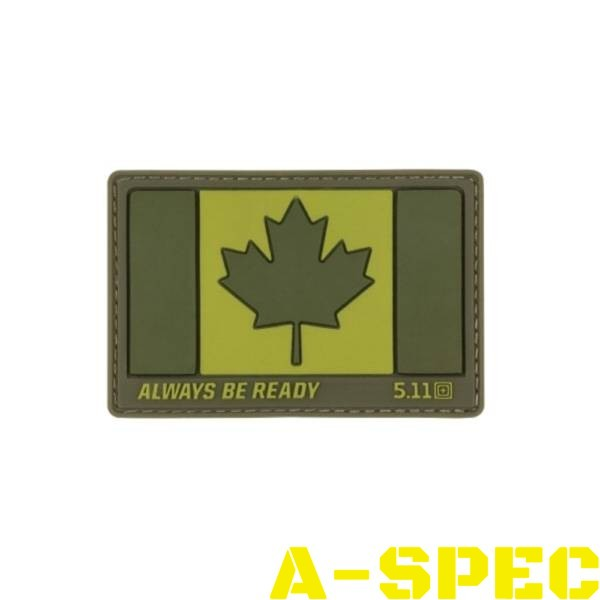 Нашивка Canada Flag Patch 5.11 Tactical
