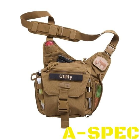 Тактическая сумка PUSH Pack Flat Dark Earth 5.11 Tactical