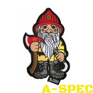 Нашивка Firefighter Gnome Patch 5.11 Tactical