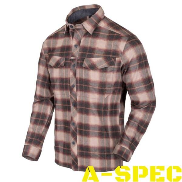 Рубашка DEFENDER MK2 PILGRIM Rust Plaid Helikon-Tex