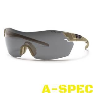 Защитные очки Smith Optics Elite Pivlock V2 TAN Tactical Deluxe kit