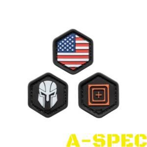 Набор патчей 5.11 Tactical Hexgrid Patch