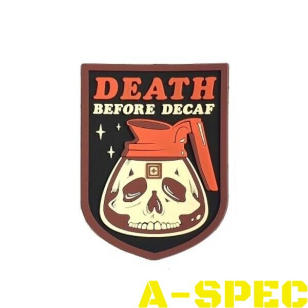 Морал патч Death Before Decaf Patch