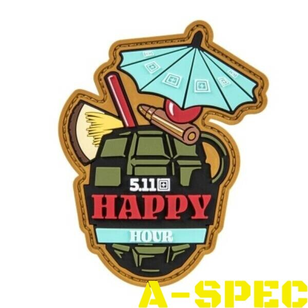 Нашивка Happy Hour Patch 5.11 Tactical