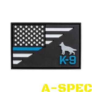 Нашивка K9 Thin Blue Line Patch 5.11 Tactical