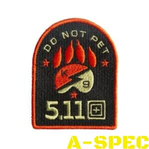 Морал патч Do Not Pet 5.11 Tactical