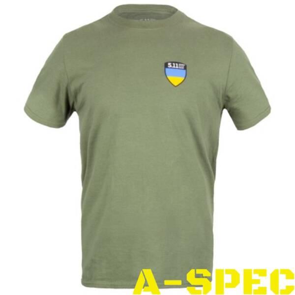 Футболка 5.11 Tactical Shield Ukraine Limited