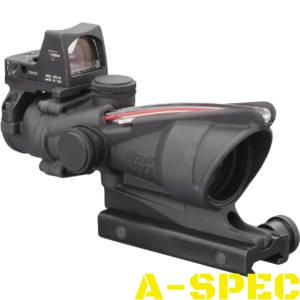 ПРИЦЕЛ TRIJICON ACOG 4X32 SCOPE + RMR RED DOT SIGHT (TA31F-RMR)