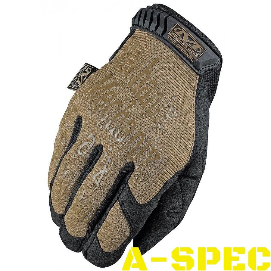 Тактические перчатки Original Coyote-Black Mechanix Wear