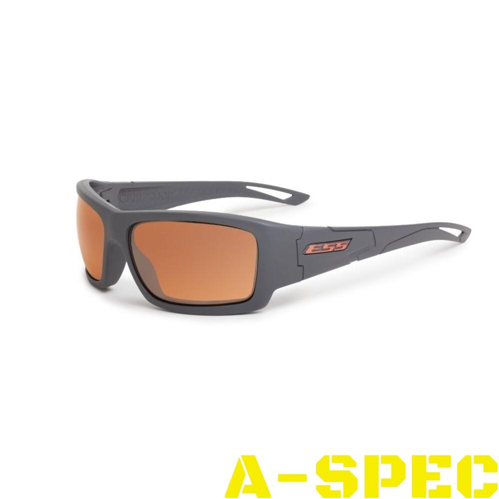 Защитные очки ESS Credence Gray Mirrored Copper