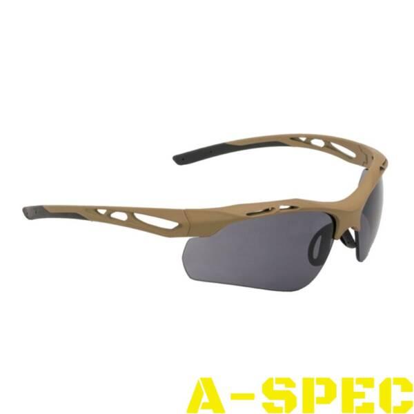 Очки защитные Swiss Eye Attac Tan