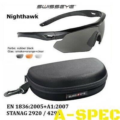 Очки баллистические Swiss Eye Nighthawk Tan