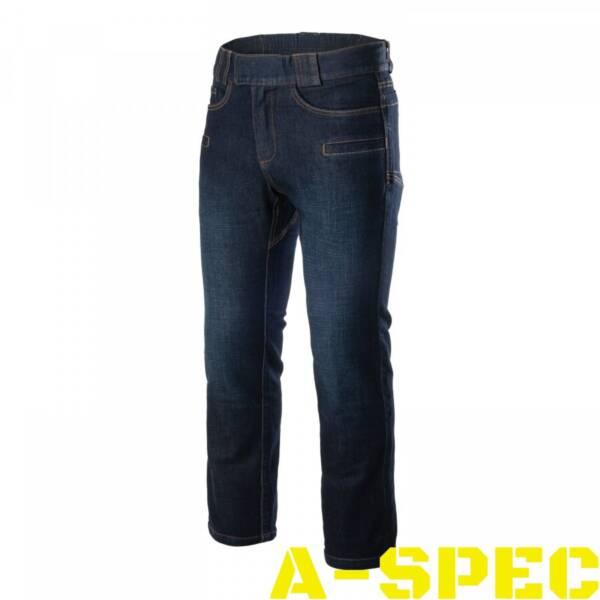 Тактические джинсы GREYMAN TACTICAL JEANS Slim Denim Helikon-Tex изготовлены из легкого джинсового материала 10 oz. Denim