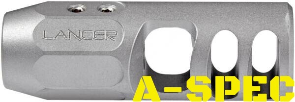 "ДТК Lancer Nitrous 223 Rem (5,56/45) Резьба - 1/2""-28 Нержавеющая сталь"