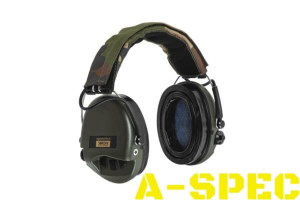 Активные наушники SORDIN Supreme Pro X с LED фонарём