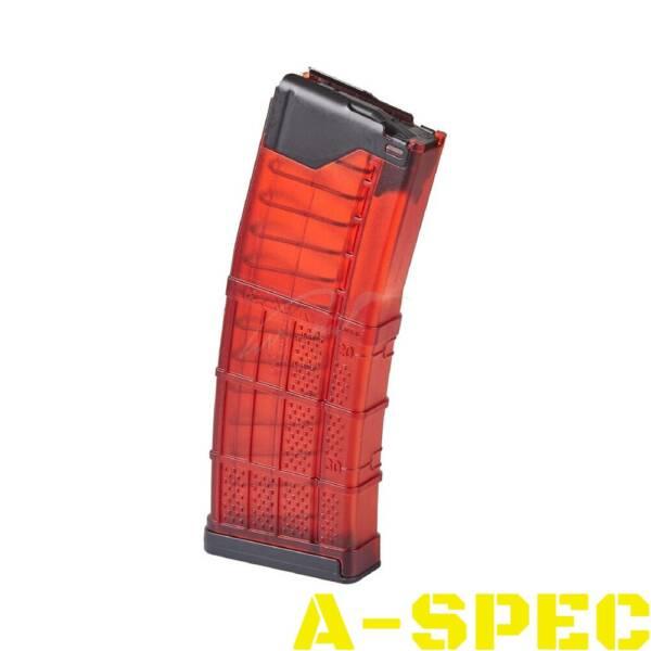 Магазин Lancer L5AWM кал 223 Rem красный 30 патронов