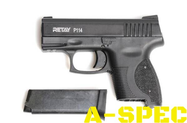 Пистолет стартовый Retay P114 кал 9 мм