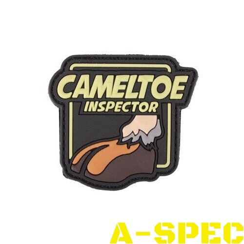 Морал патч Cameltoe Inspector 101 Inc