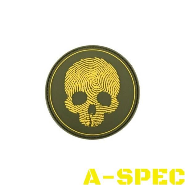 Морал патч Fingerprint Skull 101 Inc