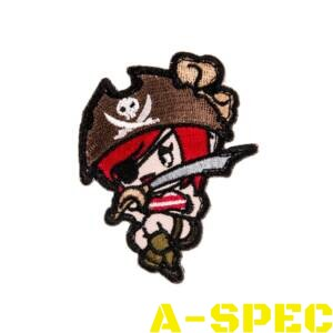 Морал патч Pirate Girl Mil-Spec Monkey