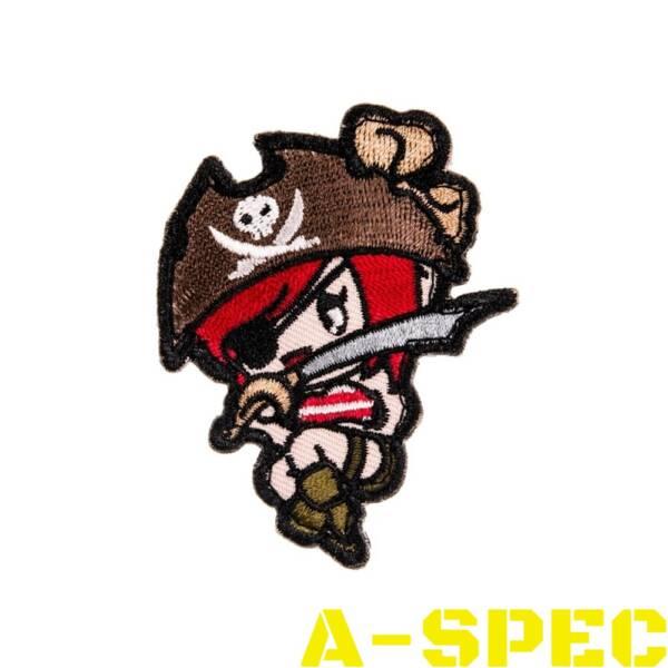 Морал патч Pirate Girl Mil-Spec Monkey