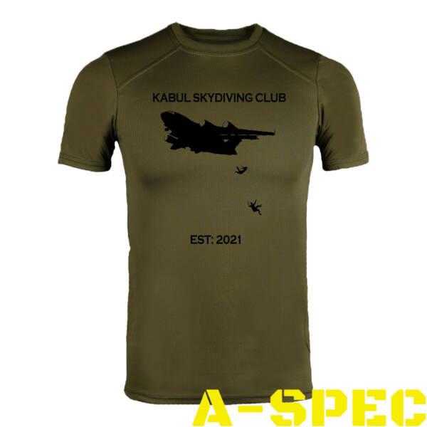 Футболка CoolMax Kabul skydiving club