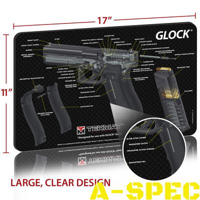 Коврик для чистки оружия Tekmat Glock Cutaway