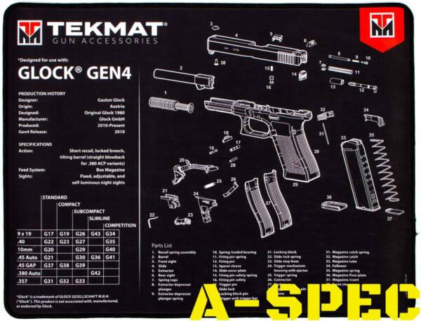 Коврик для чистки оружия Tekmat Gen4