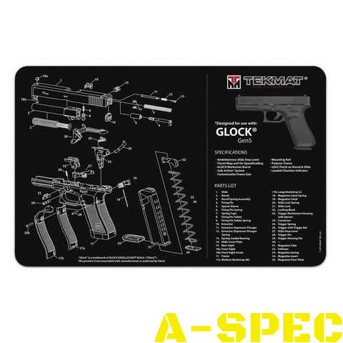Коврик для чистки оружия Tekmat Gen5