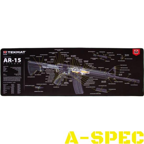 Коврик для оружия Tekmat AR-15 Cut Away для чистки оружия