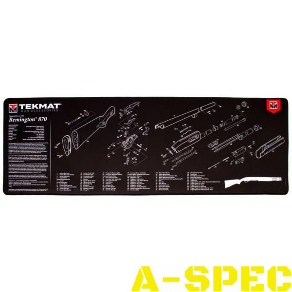Коврик для чистки оружия Tekmat Remington 870